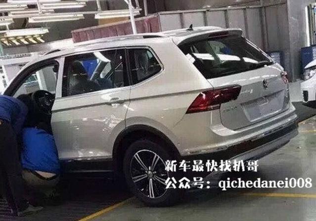 Surprise : le Volkswagen Tiguan XL se montre en Chine