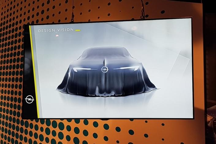Opel prépare un nouveau concept pour annoncer l'avenir