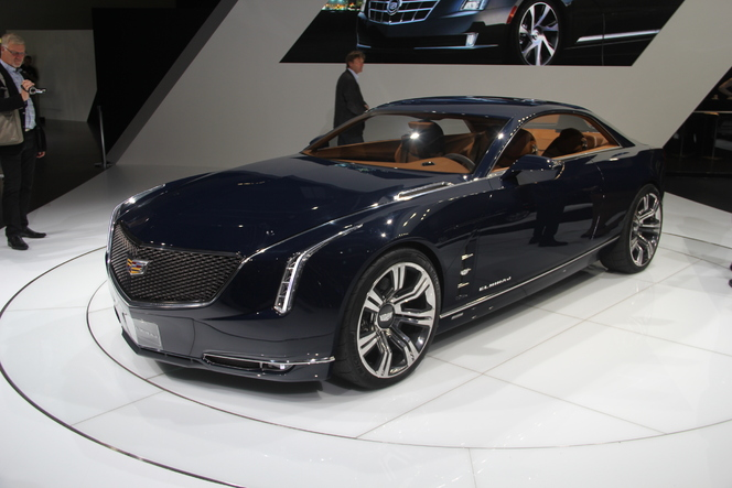 En direct du salon de Francfort  2013 - Cadillac Concept Elmiraj : batmobile