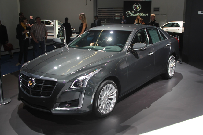 En direct du salon de Francfort  2013 - Cadillac CTS : exotique