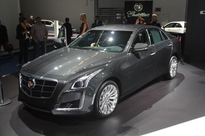 En direct du salon de Francfort  2013 - Cadillac CTS : exotique