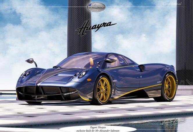 Pagani présente la Huayra 730S, un modèle unique