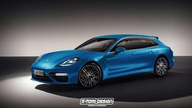 Futures Porsche Panamera break et GTS : comme ça ?