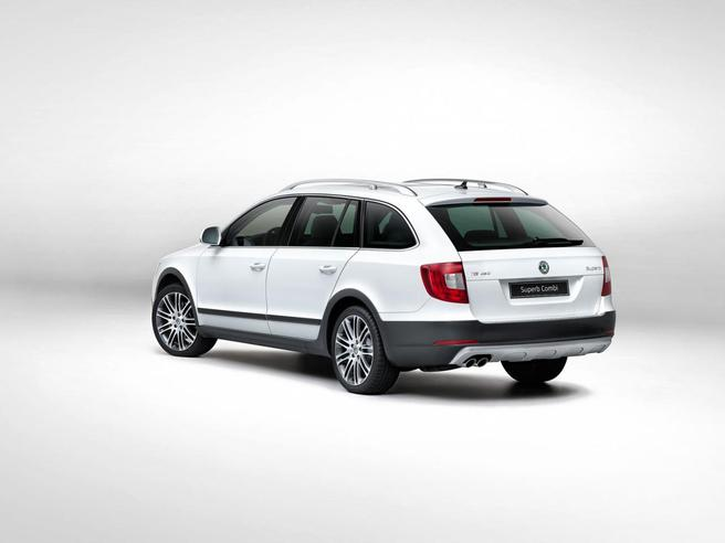 Skoda Superb Combi Outdoor : rien que l'apparence