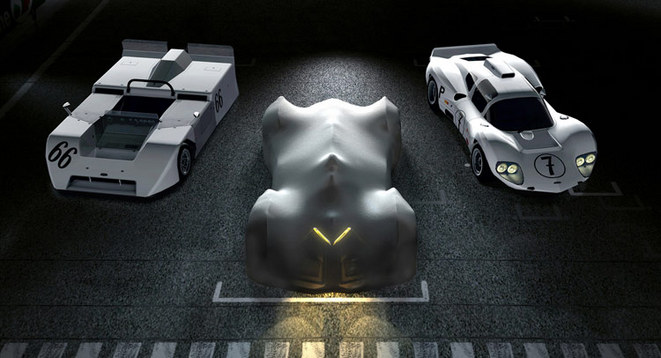 Los Angeles 2014 - General Motors tease son concept Chaparral 2X VGT