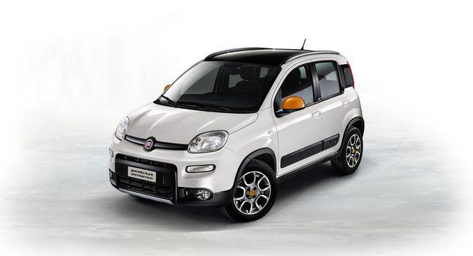Toutes les nouveautés de Francfort 2013 - Fiat Panda 4x4 Antartica