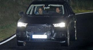 Le nouveau Audi Q7 surpris (presque) sans camouflage