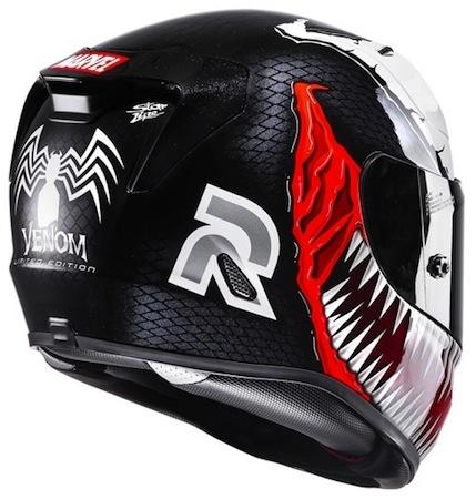 HJC Spiderman et Venom: les voilà