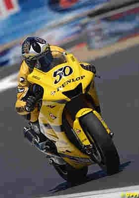 Moto GP: Guintoli sur le billard.