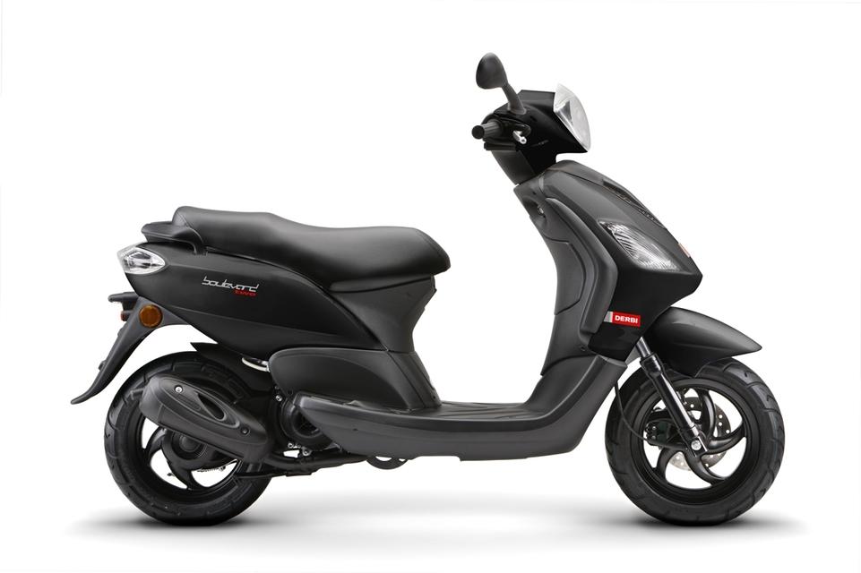 Nouveauté Scooter 2009 : Le Derbi Boulevard 50 cm3