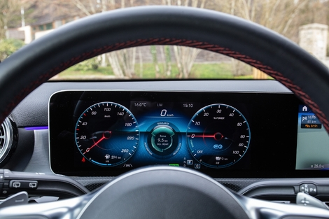 Mercedes goes one step further in personalization and graphic details.  More complicated to learn.