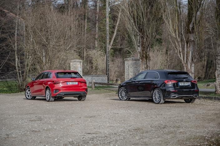Comparison - Audi A3 40 TFSIe VS Mercedes A250e: pure premium juice