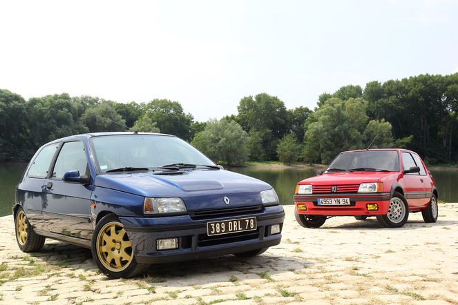 Comparatif vidéo - Renault Clio 4 RS vs Peugeot 208 GTi : retour vers le futur