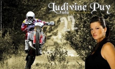 Ludivine Puy: stages d'Enduro pour filles les 8 et 9 octobre dans le Beaujolais
