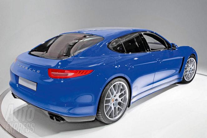 Future Porsche Pajun (Panamera Junior) : comme ça ?