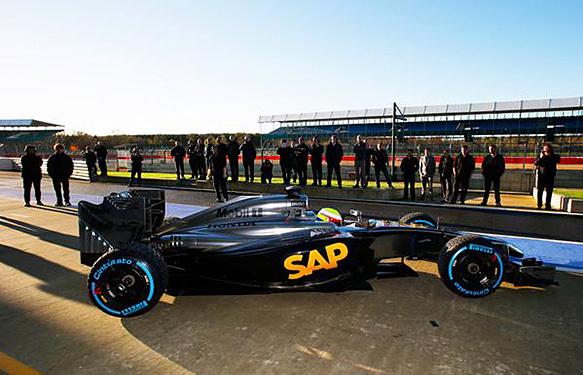 F1 : premier roulage pour une McLaren-Honda à Silverstone