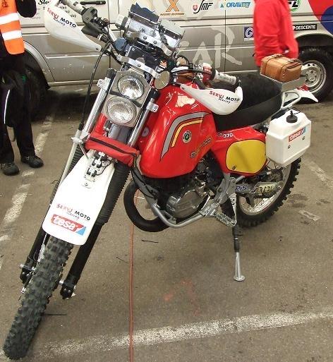 Dakar 2011 : Sur un 2 temps, çà vous dirait, alors sur une 370 Bultaco de 78 ?