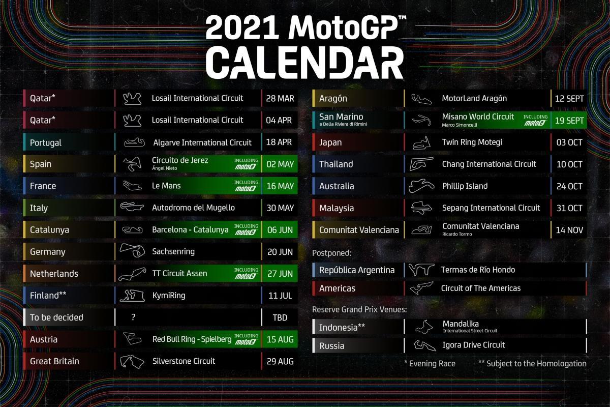 Moto Gp 2022 Calendrier La MotoGP et la Formule 1 en clair sur Canal+ ce dimanche !