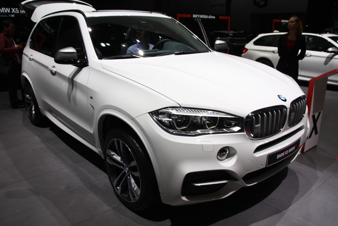 Vidéo en direct du salon de Francfort 2013 - BMW X5, tout nouveau mais pareil