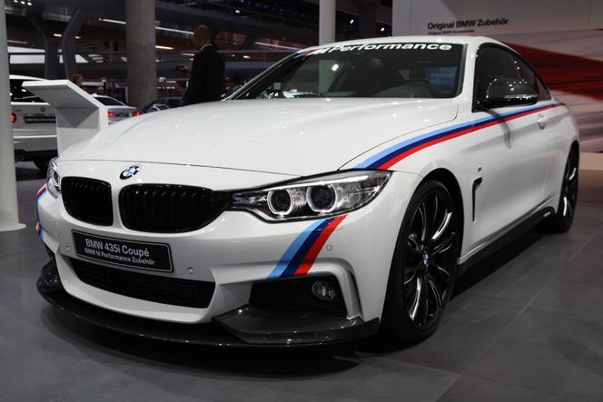 Vidéo en direct du salon de Francfort 2013 - BMW Série 4, en attendant la M