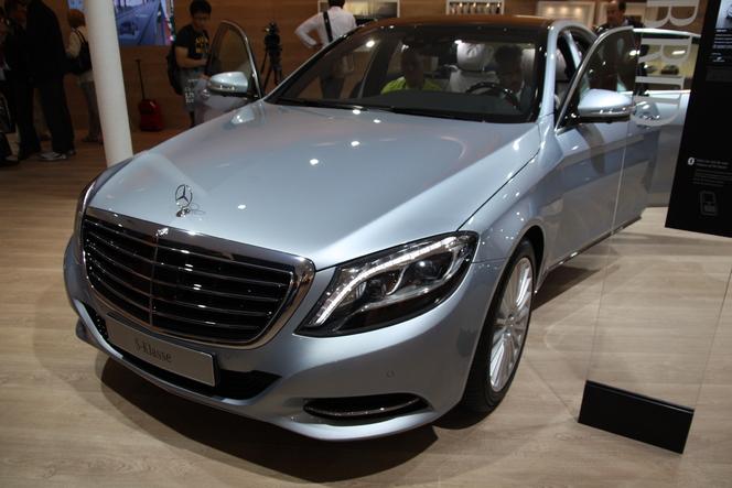 Vidéo en direct du salon de Francfort 2013 - Mercedes Classe S, la vitrine technologique de la marque se renouvelle