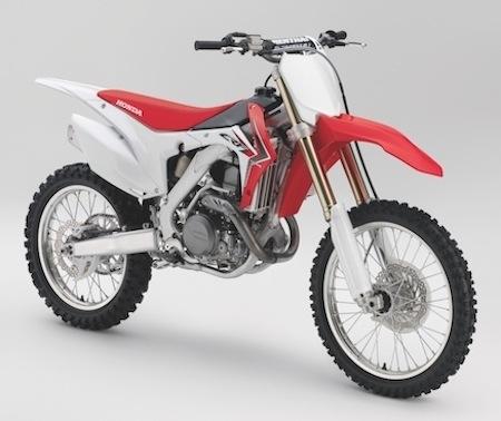 Honda CRF450R : peu de modifications pour 2014