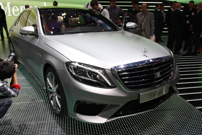 Vidéo en direct du salon de Francfort 2013 - Mercedes S63 AMG, le confort à haute vitesse