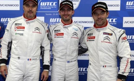 WTCC - Citroën réconduit ses pilotes et confie 2 voitures au Sébastien Loeb Racing en WTCC en 2015!