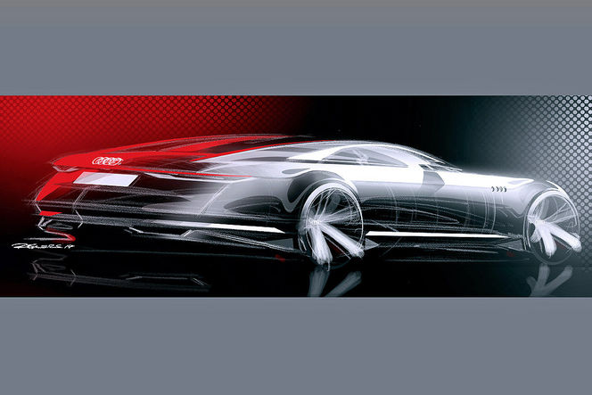Los Angeles 2014 : l'Audi Prologue concept se dévoile en dessin
