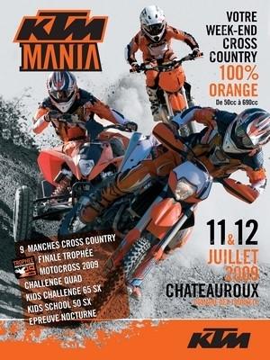 KTM Mania 2009: si vous voulez rouler avec Aubert, Desprès et Planet... il reste encore quelques places.
