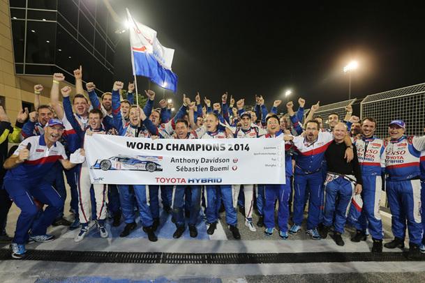 WEC/Bahreïn - Buemi et Davidson champions du monde 2014!