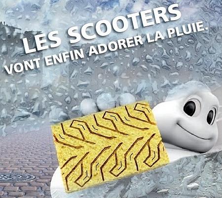 Michelin City Grip : Pour les scoot' qui aiment la pluie