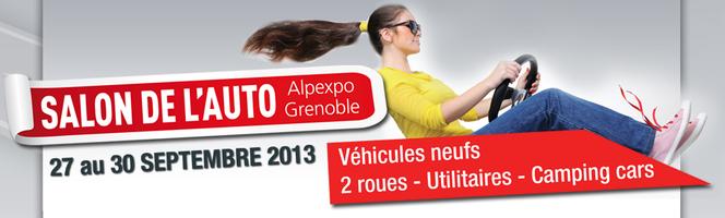 Salon auto de Grenoble 2013: rendez-vous du 27 au 30 septembre