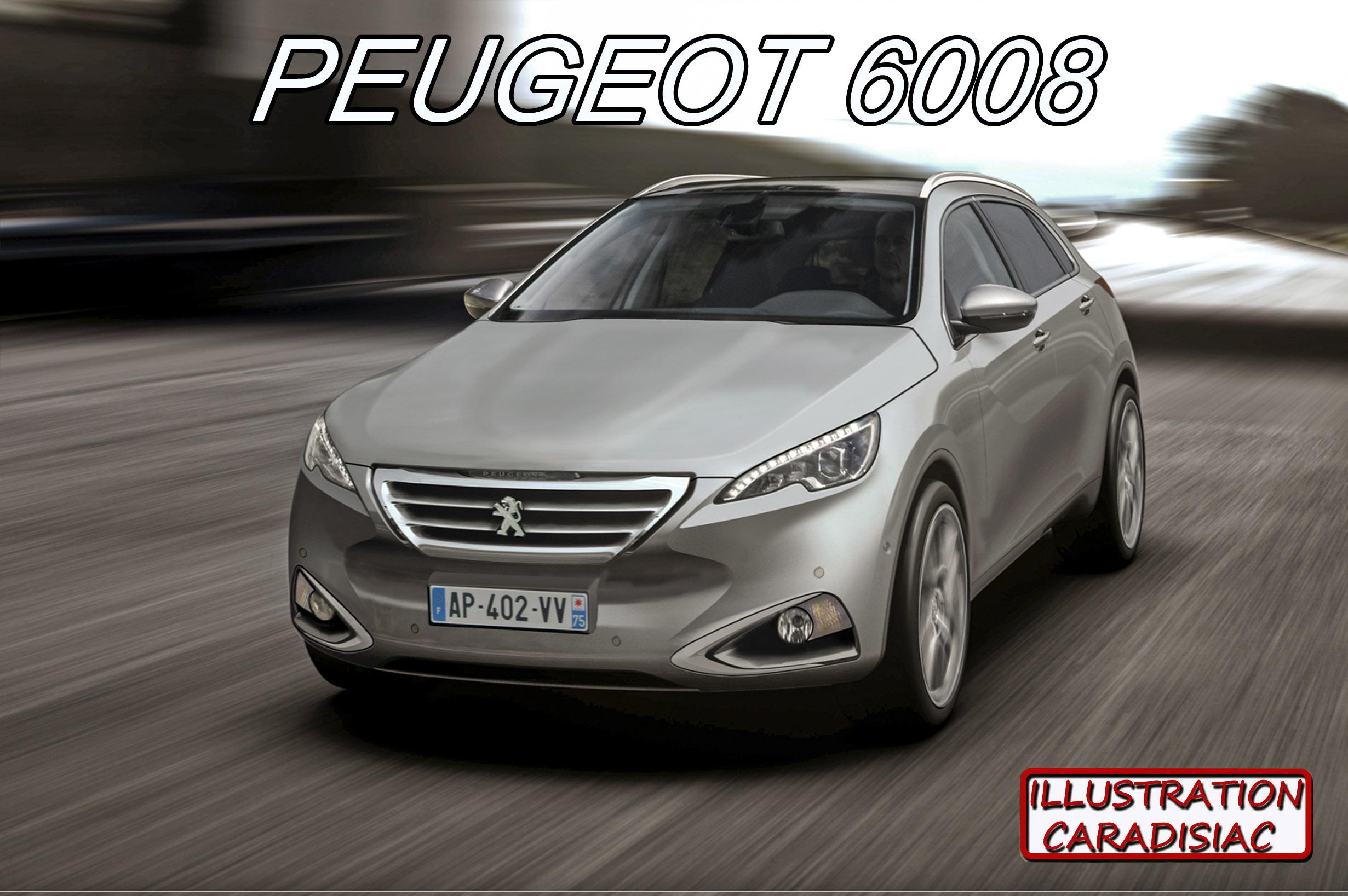 Peugeot 608 Futur Haut De Gamme Du Lion