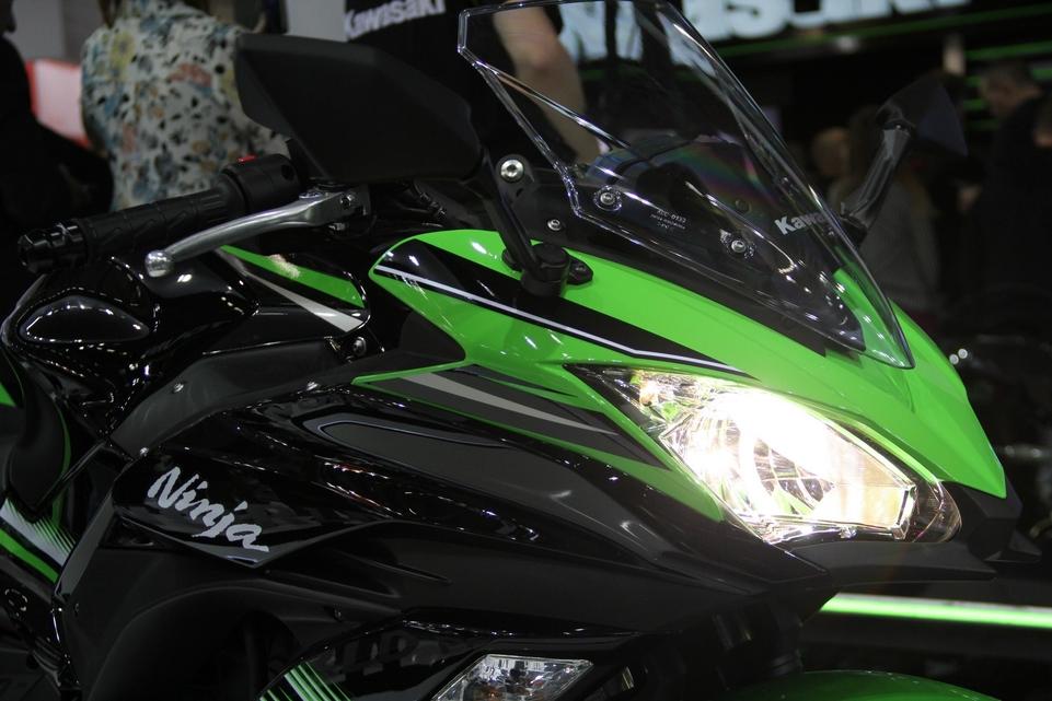 En direct d'Intermot 2016 : Kawasaki Ninja 650