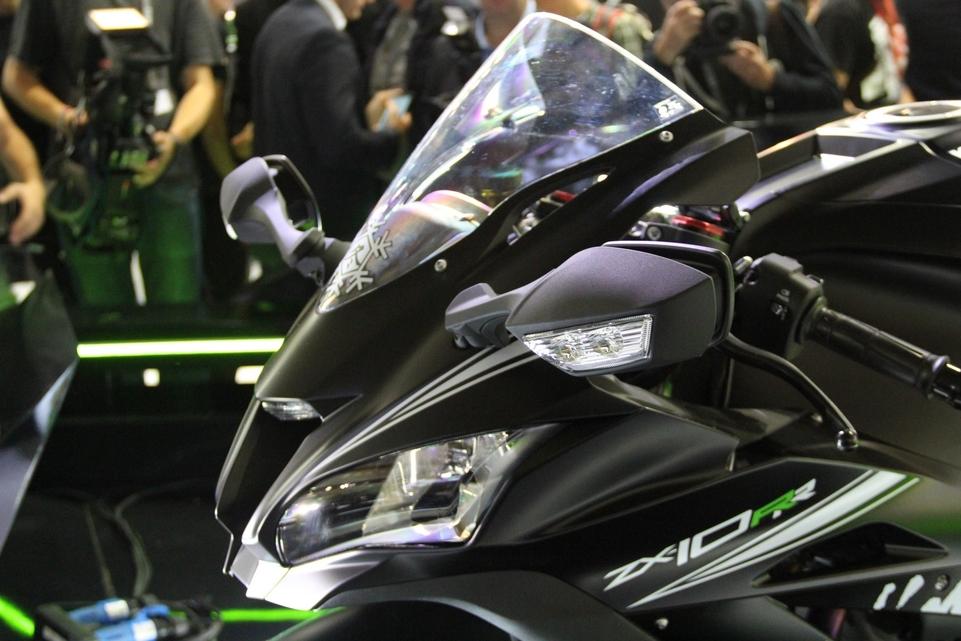 En direct d'Intermot 2016 : Kawasaki ZX10-RR
