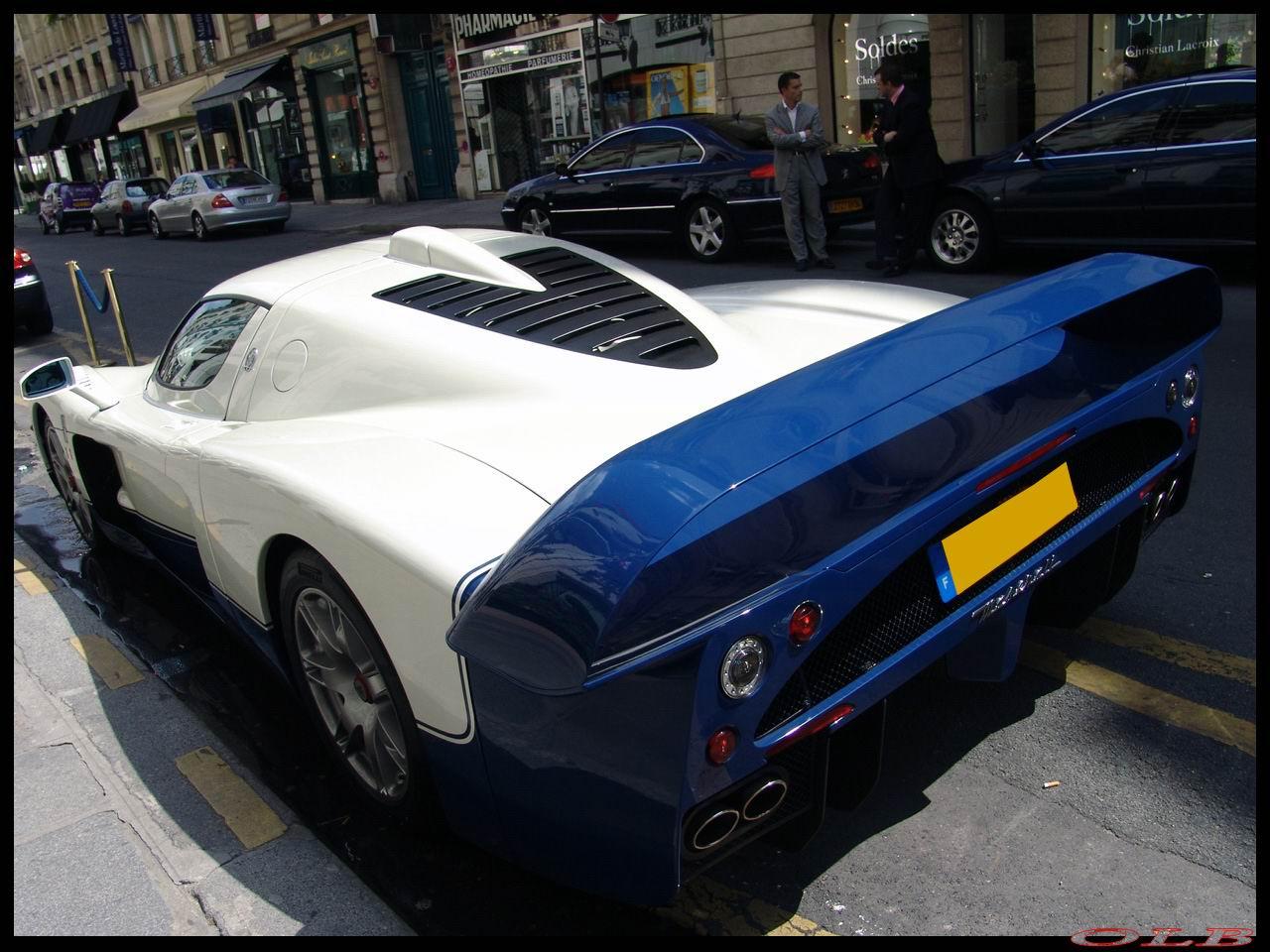 du jour : Maserati MC12