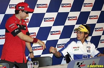 Moto GP: Lorenzo et Rossi dans la même écurie.