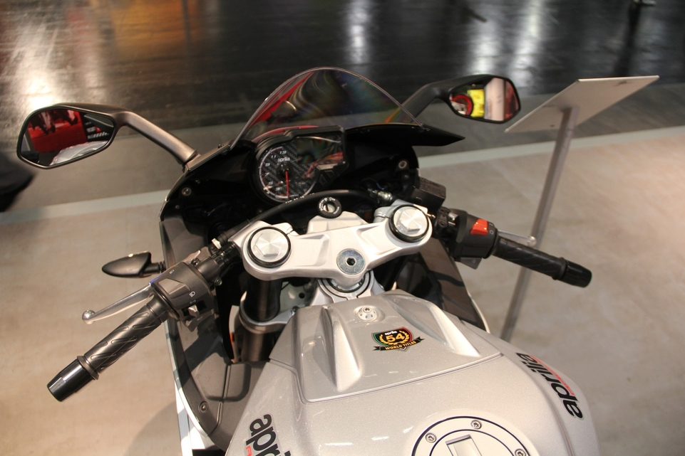 En direct d'Intermot : Aprilia RS 125 ABS