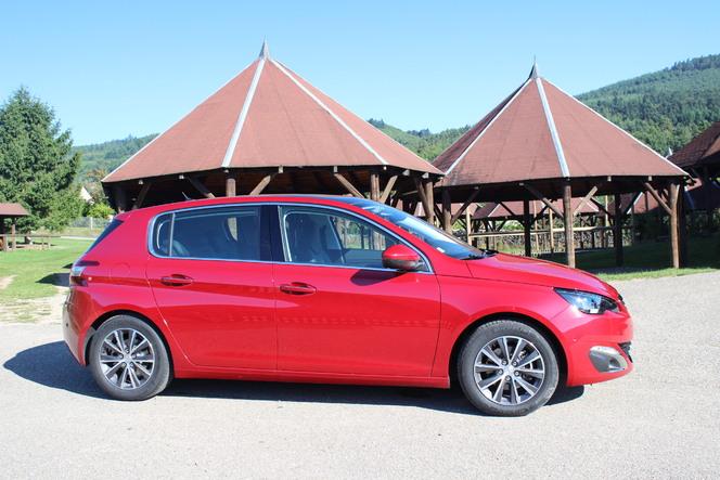 Peugeot 308 : en avant-première, les photos de l'essai