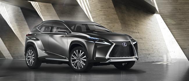 Toutes les nouveautés du salon de Francfort 2013 – Lexus LF-NX : il Evoque un futur crossover