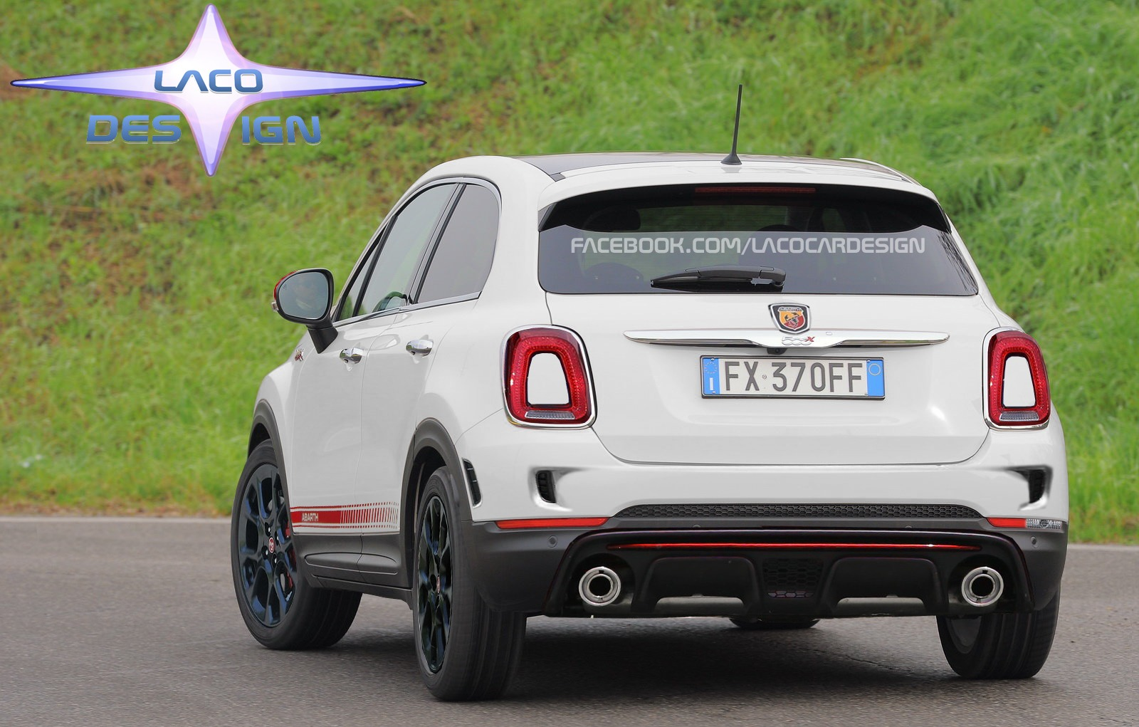 abarth 500 x voici quoi elle pourrait ressembler. Black Bedroom Furniture Sets. Home Design Ideas