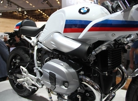 En direct d'Intermot 2016, BMW: R nine T Racer