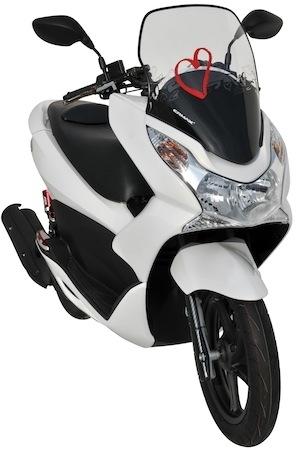 Ermax: de la haute protection pour le Honda PCX 125