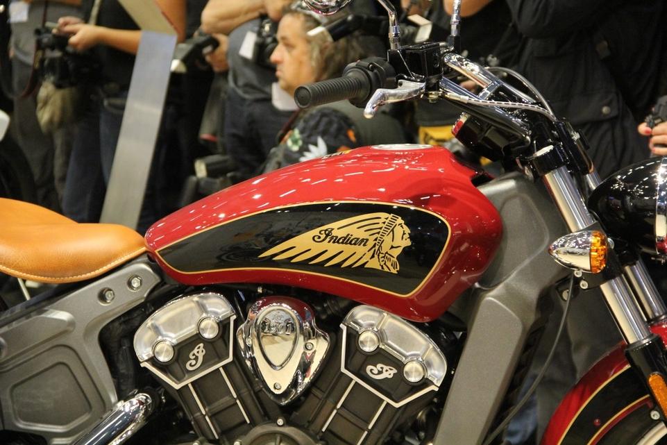 En direct d'Intermot 2016 : Indian Motorcycle Scout Sixty