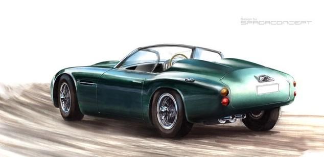 Une Aston Martin DB4 GT Zagato Convertible: cela vous dit?