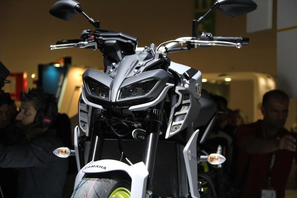 En direct d'Intermot 2016 : Yamaha MT-09
