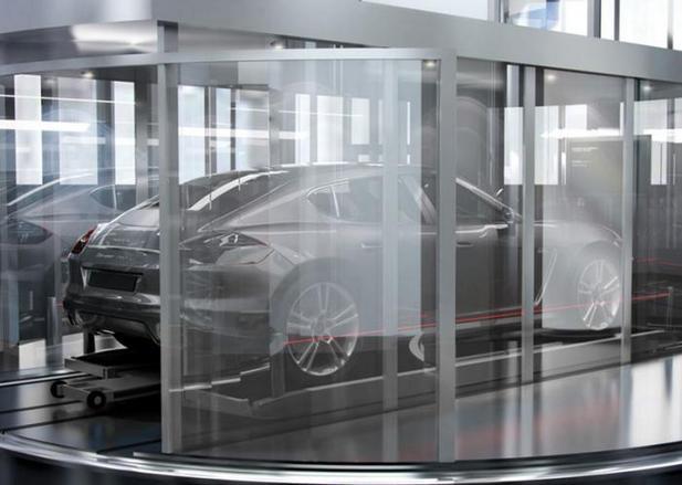 De quoi les lignes de cette Porsche sont-elles le projet?