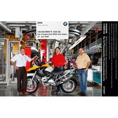"""La R 1200 GS consacrée """"best seller"""" de BMW."""