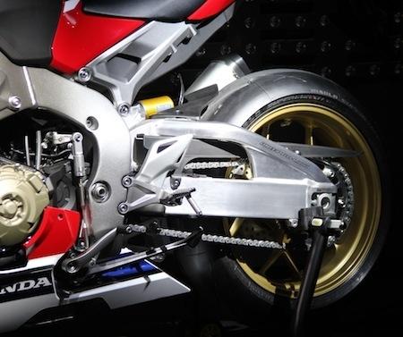 En direct d'Intermot 2016, Honda: CBR1000RR Fireblade SP